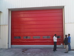 RAPID /FAST ACTION/ HIGH SPEED FOLDUP DOOR  IN UAE