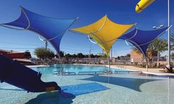 Tensile Shades from BAIT AL NOKHADA TENTS & FABRIC SHADE LLC