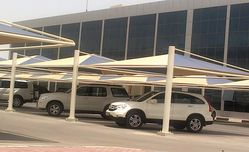 CAR PARK SHADES NEW MODEL from AL RAWAYS TENTS & CAR PARKING SUNSHADES