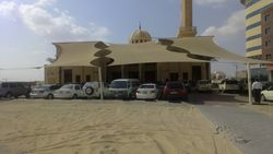 HDPE Tensile Sunshade from AL RAWAYS TENTS & CAR PARKING SUNSHADES