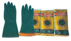 RUBBER GLOVES SUN BRAND  from SAFELAND TRADING L.L.C