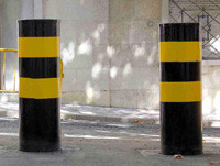 Steel BOLLARDS BOLARD SAFETY, PARKING, Tyre Traffic Tire Spikes