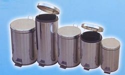 Steel Pedal Bin in uae from AL MAS CLEANING MAT. TR. L.L.C