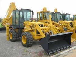 BACK HOE ON HIRE - UAE- ABU DHABI  from WESTERN HEAVY EQUIPMENT RENTAL L. L. C