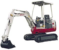 MINI EXCAVATOR ON RENT  from ARABIAN EQUIPMENT & MACHINERY RENTALS LLC