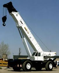 CRANE ON HIRE from ARABIAN EQUIPMENT & MACHINERY RENTALS LLC