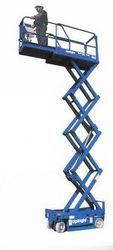 SCISSOR LIFT FOR HIRE from ARABIAN EQUIPMENT & MACHINERY RENTALS LLC