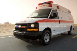 Ambulance Conversion from FIRST INTERNATIONAL SPECIALIZED VEHICLES TRADING