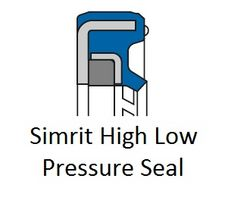 Simrit High Low Pressure Seal (HLPS) from SPECTRUM HYDRAULICS TRADING FZC
