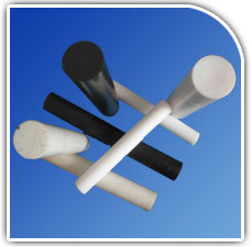 PTFE Moulded Rods from JAYHIND POLYMERS