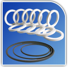 PTFE Ring / Washer / Gaskets from JAYHIND POLYMERS