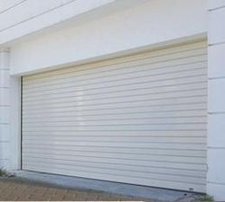 DOUBLE WALL INSULATED ROLLER SHUTTER DOOR from DESERT ROOFING & FLOORING CO L L C (DOORS DIVISION)