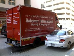 shifting services from SAFEWAY INTERNATIONAL MOVING & SHIPPING LLC