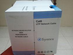 CAT6 CABLE UTP 4PAIR - SYNTEX BRAND