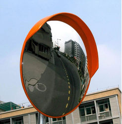 CONVEX MIRROR WITH MOUNTING BRACKET