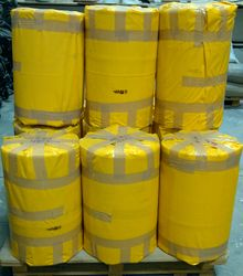 20 inch Plastic Ducting Hose Tube Rolls in UAE from AL BARSHAA PLASTIC PRODUCT COMPANY LLC