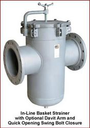 Inline Strainers from CHAMPION FILTERS MANUFACTURING COMPANY