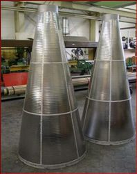 wedge wire strainer  from CHAMPION FILTERS MANUFACTURING COMPANY