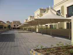 Car Parking Shades from AL SHERA DOORS & SHADES