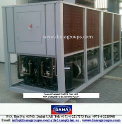 INDUSTRIAL WATER CHILLERS/CHILLING PLANTS COOLING  from DANA GROUP UAE-OMAN-SAUDI