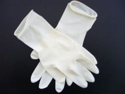 Latex Gloves from AL MAS CLEANING MAT. TR. L.L.C