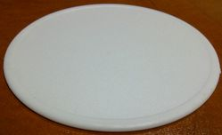 Plastic Coaster single piece Round also Printing d from AL BARSHAA PLASTIC PRODUCT COMPANY LLC