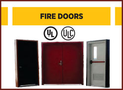 Fire Door UL, ULC SFFECO  from SFFECO GLOBAL FZE
