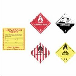 HAZARD LABEL SET from GSET LLC