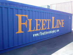 SHIPPING LINE/ NVOCC from FLEET LINE SHIPPING SERVICES LLC