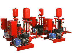 Fire Pump Set from AL SAIDI TECHNICAL SERVICES & TRADING LLC