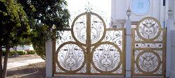 STEEL DOORS & GATES from AFLAJ MAJAN TRADING