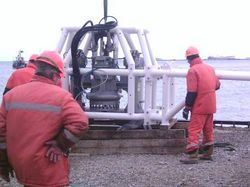 PUMP FOR OFFSHORE PETROCHEMICAL INSTALLATION