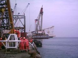 DREDGING PUMP FOR OFFSHORE PLATFORM