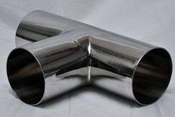 Stainless Steel Dairy Equal Tee from NEO IMPEX STAINLESS PVT. LTD.