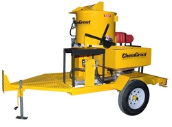 TRAILER MOUNTED GROUT INJECTION EQUIPMENT