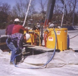 POST TENSIONING GROUT PUMP