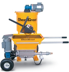 GROUT MIXER AND PUMP SET