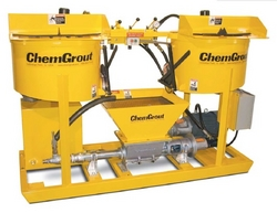 GROUTING PUMPS AND  MIXERS