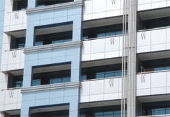ALUMINIUM COMPOSITE PANEL CLADDING from SOMAR ALUMINIUM & GLASS MANUFACTURING CO.(SAMCO)