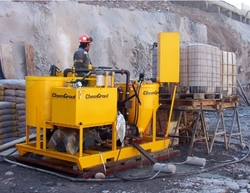 GROUT PUMP RENTAL IN THE MENA REGION