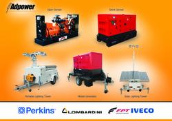 Diesel Generators from ADPOWER FZCO WWW.ADPOWER.AE