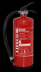 Water extinguishes by cooling the fire and is the  from LICHFIELD FIRE & SAFETY EQUIPMENT FZE - LIFECO