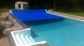 Automatized pool cover