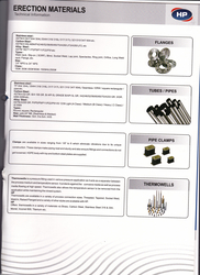 Flanges / Pipes / Tubes from HP VALVES & FITTINGS FZE