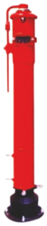 LIFECO Vertical Type Indicator Post from LICHFIELD FIRE & SAFETY EQUIPMENT FZE - LIFECO