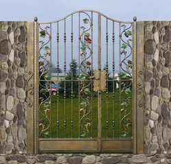 DECORATIVE GATES  MANUFACTURER IN UAE from LINK MIDDLE EAST LTD