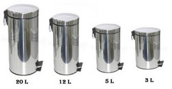 Steel Pedal Bins from AL MAS CLEANING MAT. TR. L.L.C