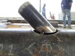 Fabrication of Gas Pipe Lines from ABDUL JABBAR GENERAL CONTRACTING LLC