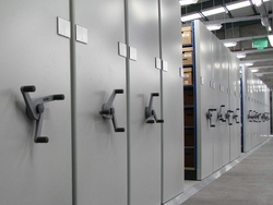 MOBILE SHELVING SYSTEMS IN UAE from ADEX