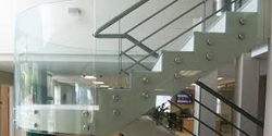 Frameless Glass Partitions from MIAMI METAL INDUSTRIES EST.